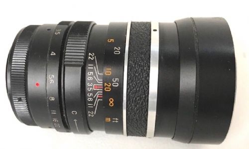 FONTRON 135MM F3.5 PRIME LENS IN M42 SCREW FITTING